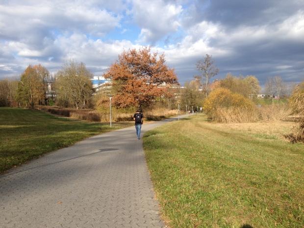 Walking to the Uni