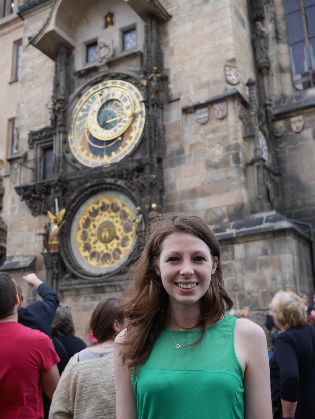 Finally at the Astronomical Clock!