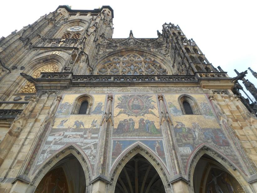 Prague St. Vitus Facade
