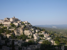 Grapes, Ochre, and Villages in the Provence Countryside