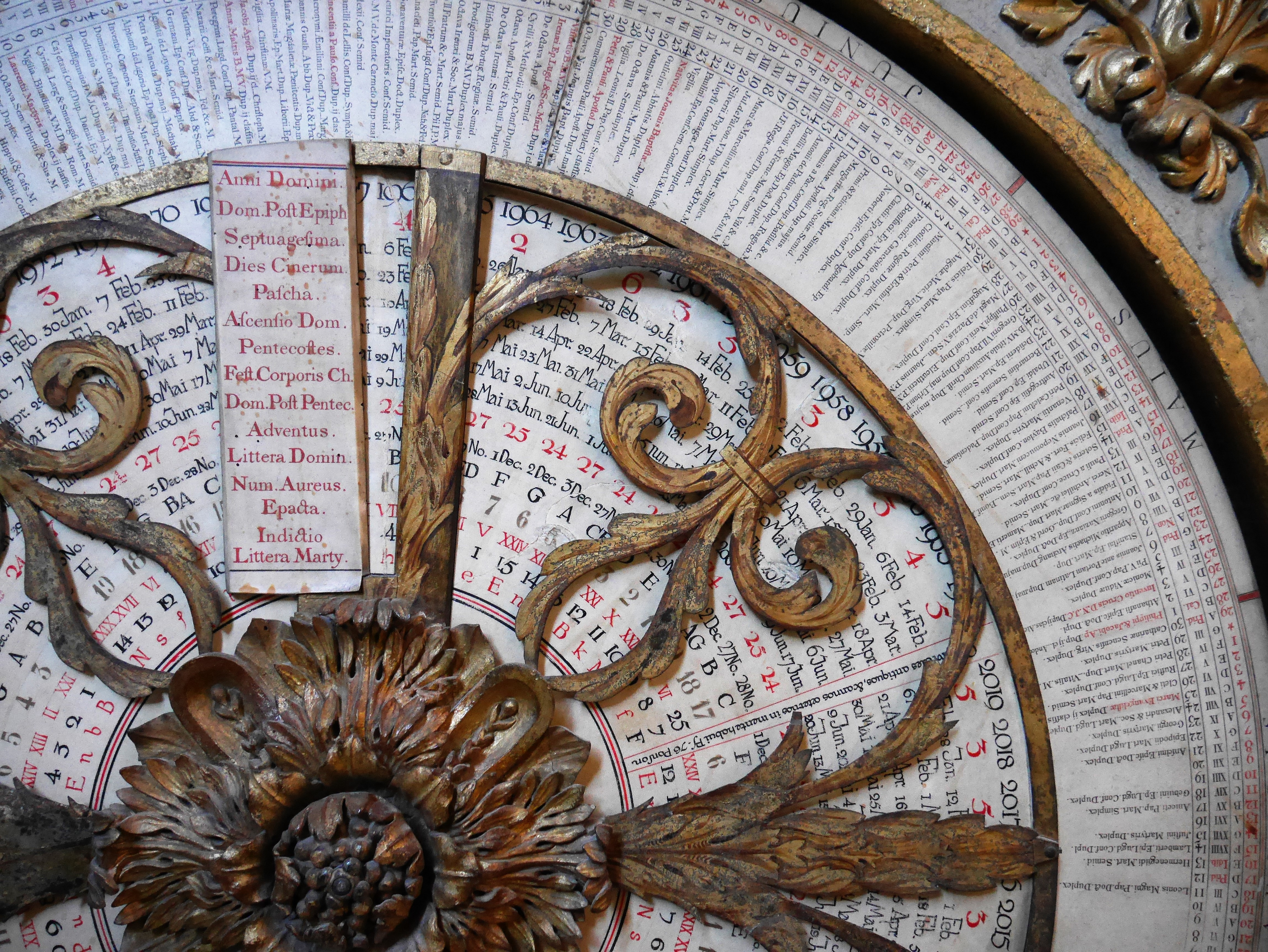 Cathédrale Saint-Jean-Baptiste de Lyon Astronomical Clock